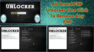 All Brand FRP Unlocker One Click To Remove Frp