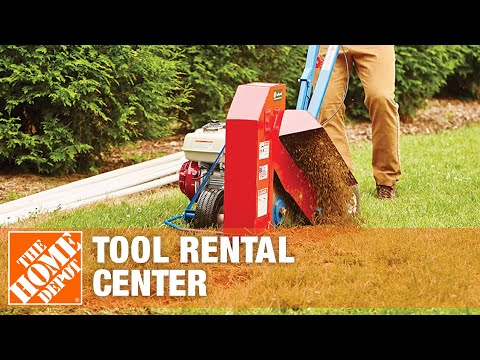 The Home Depot Tool Rental Center Trenchers Youtube
