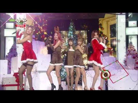 [kbs world] 뮤직뱅크 - EXID, Happy Christmas.20151225