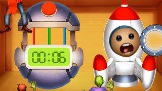 SPACE MISSION vs MEGA BOMB | Kick The Buddy | Bananos4kids