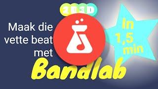 Bandlab in 1,5 min - Maak muziek met je laptop