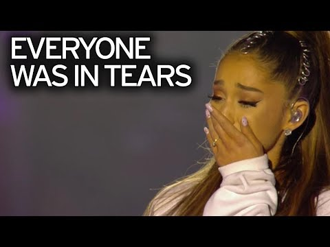 Ariana Grande - Somewhere Over The Rainbow - One Love Manchester Concert #Live