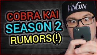 Cobra Kai Season 2 Rumors
