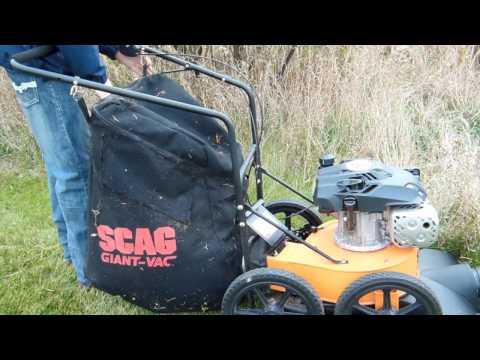 Scag Giant Vac - Lawn Vacuum