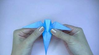 おりがみ つばめ Origami Swallow