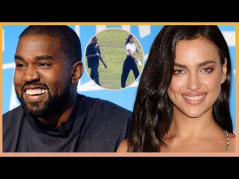 Kanye West Rebounds With Supermodel Irina Shayk As Kim K Wishes Him A Happy Birthday