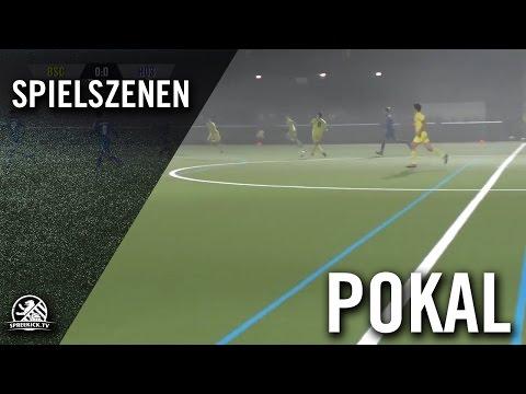 Berliner SC – Hertha 03 Zehlendorf (U19 A-Junioren, 3. Runde, Pokal der A-Junioren 2016/2017) - Spielszenen | SPREEKICK.TV