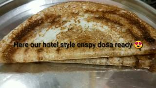 Dosa / idly batter recipe //how to get hotel style crispy dosa and soft idly//preparation