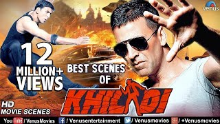 Best Scenes Of Khiladi   Akshay Kumar   Ayesha Jhulka   Superhit Bollywood Comedy & Action Scenes
