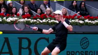 Andy Murray   Top 10 Crazy Shots from Out of Nowhere HD
