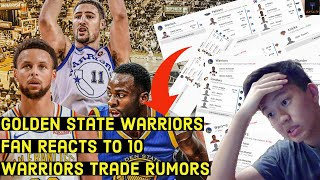 10 Golden State Warriors Trade Proposals In 2020 Offseason Fan Reaction | Wiggins, Green, Draft Pick