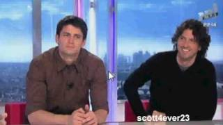 James Lafferty and Mark Schwahn @ NRJ Live Paris - Part 3/3