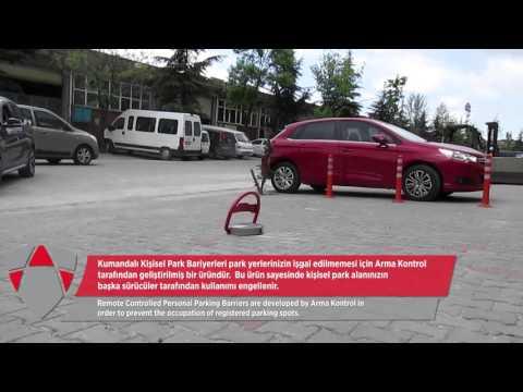 ArmaKontrol - Kişisel park bariyerleri - Remote Controlled Parking Lock