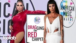 American Music Awards: 'RuPaul's Drag Race' Stars Drag Best and Worst Red Carpet Fashion