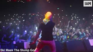 Ski Mask The Slump God live crazy stage dives @ SOLD OUT London show   THIS IS LDN [EP:206]