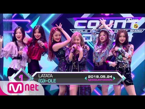 Top in 4th of May, '(G)I-DLE' with 'LATATA', Encore Stage! (in Full) M COUNTDOWN 180