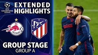 Salzburg vs. Atletico Madrid: Extended Highlights | UCL on CBS Sports