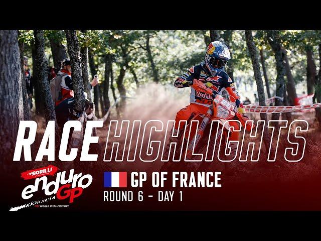 Vidéo EnduroGP 2021 France J1