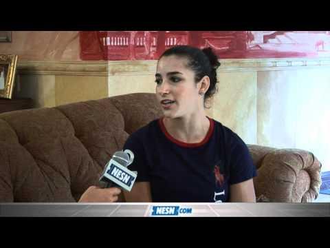 Aly Raisman Interview - YouTube
