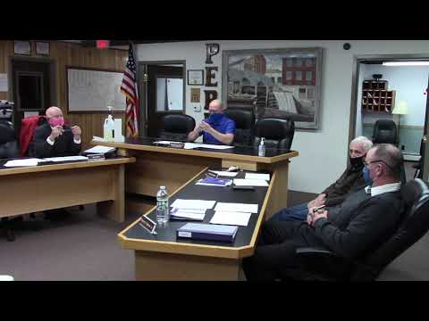 Peru Town Board Special Meeting  11-16-20