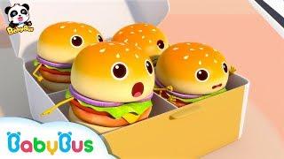 Câu chuyện thú vị của những chiếc Hamburger | Tuyển tập bài hát Hamburger | Nhạc thiếu nhi | BabyBus