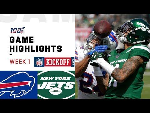 Bills vs. Jets Week 1 Highlights | NFL 2019
