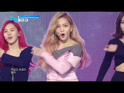 【TVPP】Red Velvet – Cool Hot Sweet Love , 레드벨벳- 쿨 핫 스윗 럽  @Comeback Stage, Show Music Core Live