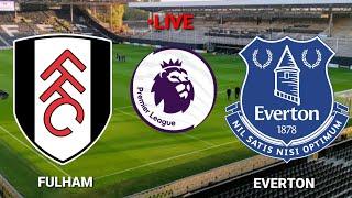 🔴Trực tiếp[Fulham vs Everton Premier League  2020 -2021||Pes17