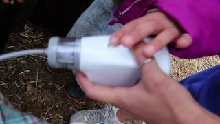 TESTING OUR VACCUM SEALER/MASON JAR DIY GOAT MILKER