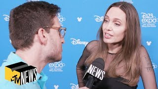 Angelina Jolie on Playing Thena in 'The Eternals' & Wanting to Be in 'Star Wars' | MTV News