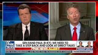 Sen. Rand Paul Discusses Trump-Putin Meeting with Neil Cavuto - July 16, 2018