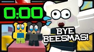 RIP BEESMAS - What Happened When Onett ENDED Beesmas?   Roblox Bee Swarm Simulator