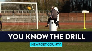 Bullard Scores FLYING Volley! | Newport County | You Know The Drill