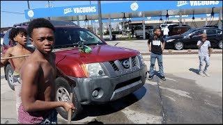 THEBADKID'S INVADED SKYZONE & MESSED OVER THE CAR'S!!