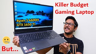 Killer Budget Gaming Laptop?😱 Lenovo Legion 5 Ryzen 5 4600H & GTX 1650 Ti Review 🔥