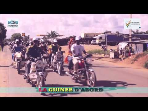 Steps & the arrival of the Caravan - PACTE project - La Guinée d'abord (FR)