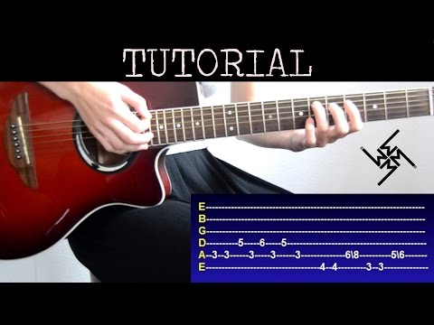 Cómo tocar Sweet Dreams - Marilyn Manson Versión (Tutorial Guitarra)