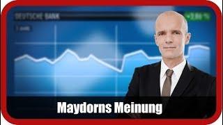 Maydorns Meinung: DAX, Commerzbank, Deutsche Bank, SGL Carbon, Nordex, Evotec, BYD, Nel, SolarEdge