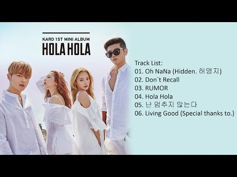 [Mini Album] KARD - Hola Hola