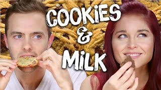 Crazy Cookie & Milk Combos! (Cheat Day)