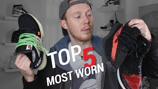 MY TOP 5 MOST WORN SNEAKERS OF 2017