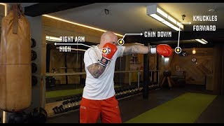GET FIT | Boxing Training For Beginners | Free Online Boxing Course | Lesson 3 | The Jab