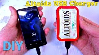 Altoids   Phone Charger