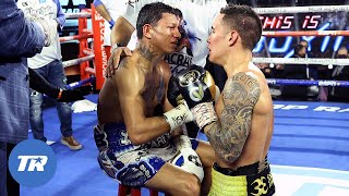 Go behind-the-scenes as Oscar Valdez knocks out Miguel Berchelt in historic fight