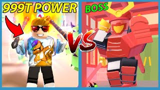 I Became The STRONGEST WARRIOR to Fight the MAX SAMURAI BOSS! - Roblox Adventurer Simulator