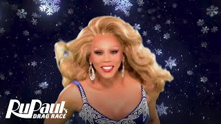 RuPaul's Drag Race: Green Screen Christmas 'Merry Christmas' w/ Pit Crew & Your Fav Queens | Logo