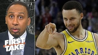 The Raptors 'might get swept' if Steph Curry gets hot in the NBA Finals - Stephen A. | First Take