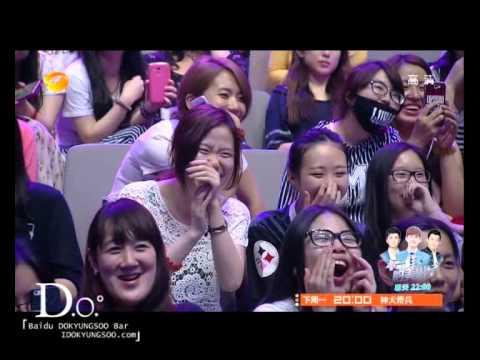 [ENG SUB][Baidu DOKYUNGSOO Bar]140705 Happy camp EXO D.O.(디오) Cut