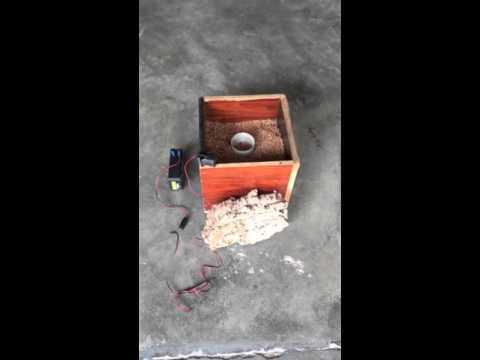 Prueba acústica del corcho insuflado Socyr epdm
