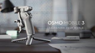 DJI - Osmo Mobile 3 - Imagination Unfolded